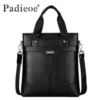 Padieoe ของแท้หนังวัวกระเป๋าถือผู้ชายกระเป๋าสะพายกระเป๋าถือคุณภาพสูงผู้ชายกระเป๋าสะพายไหล่อเนกประสงค์ - INTL