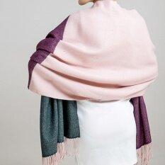 ทบทวน ผ้าคลุม Palio ผ้าคุมไหล่ ผ้าพันคอ สี Pink Hit Color Unbranded Generic