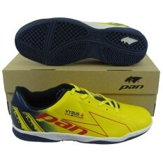 ขาย รองเท้ากีฬา รองเท้าฟุตซอล Pan 14K6 Vyrus 4 เหลืองน้ำเงิน Pan ผู้ค้าส่ง