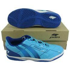 ขาย รองเท้ากีฬา รองเท้าฟุตซอล Pan 14K7 Force 2 ฟ้ากรม ใหม่