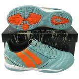 รองเท้ากีฬา รองเท้าฟุตซอล Pan Pf 14M5 Centaur Shoes ฟ้าส้ม Pan ถูก ใน กรุงเทพมหานคร