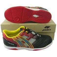 รองเท้ากีฬา รองเท้าฟุตซอล Pan Pf 14N1 Venture 2 ดำแดง ใน Thailand