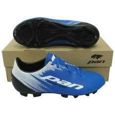 ขาย ซื้อ รองเท้ากีฬา รองเท้าสตั๊ด Pan Pf 1502 Viper King น้ำเงินดำ