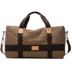 ราคา ขนาดใหญ่กระเป๋าเกาหลีกระเป๋าผ้าใบผู้ชายกระเป๋าเดินทาง Park S 1151 ผ้าใบกระเป๋า เป็นต้นฉบับ Unbranded Generic