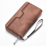 ราคา กระเป๋าสตางค์ผู้ชายซิปกระเป๋าคลัทช์ลำลองธุรกิจ Park S สี ราคาถูกที่สุด