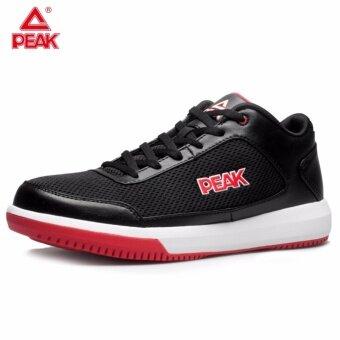 PEAK รองเท้า บาสเกตบอล Basketball shoes พีค รุ่น E42091A - Black/Red
