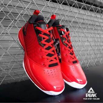 PEAK รองเท้า บาสเกตบอล Basketball shoes พีค รุ่น E62141A - Red