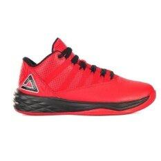 ราคา Peak รองเท้า บาสเกตบอล Basketball Shoes ทุกสภาพ สนาม พีค รุ่น E64111A Red Black ใน กรุงเทพมหานคร
