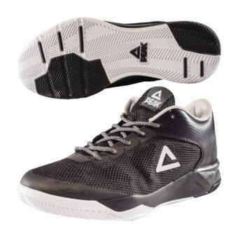 PEAK รองเท้า บาสเกตบอล Basketball shoes TP9 IV ทุกสภาพ สนาม พีค รุ่น E72381A - Black