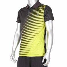 ขาย ซื้อ Peak เสื้อ กีฬา ฟิตเนส Polo T Shirt Fitness Sport พีค รุ่น F642777 Black Green กรุงเทพมหานคร