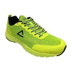 ขาย Peak รองเท้า วิ่ง ระบายอากาศ พีค Women Running Shoe รุ่น E53108H Fluorescent Yellow Peak เป็นต้นฉบับ
