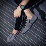 ขาย ขี้เกียจเกาหลีชายฤดูใบไม้ผลิจิตวิญญาณรองเท้าน้ำ Peas A822 สีเทา น้ำหนักเบารองเท้า ผู้ค้าส่ง