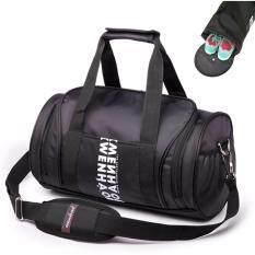 ราคา Peimm Modello 23 L Fitness Sports Bag กระเป๋ากีฬา กระเป๋าฟิตเนต กระเป๋าออกกำลังกาย กระเป๋าใส่รองเท้า กันน้ำ มัลติฟังก์ชั่น สีดำ ใหม่