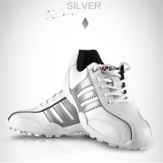 เด็กผู้หญิง Pgm รองเท้ากอล์ฟ Unisex กันน้ำรองเท้ากีฬาระบายอากาศสำหรับเด็กสีขาวขนาด 32-36 - Intl By Shenzhen Fuzecheng Technology Co.,ltd.