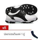 ส่วนลด Pgm รองเท้ากอล์ฟ รองเท้ากันน้ำ Men Golf Shoes Waterproof Microfiber Leather Shoes กรุงเทพมหานคร