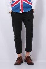 ราคา Ph 02 กางเกงลำลองกางเกงตรงข้อเท้ายาว สีดำ ระหว่างประเทศ Unbranded Generic