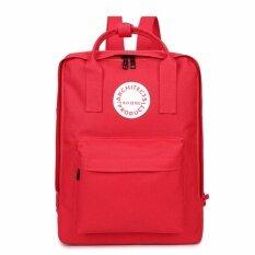 Phc กระเป๋าสะพาย เป้สะพายหลัง กระเป๋า เป้นักเรียน ไซส์ M สีแดง K Lion ถูก ใน กรุงเทพมหานคร