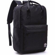 ขาย Phc เป้สะพายหลัง กระเป๋า แฟชั่น Sch**l Bag ใบใหญ่ สีดำ