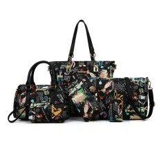 ขาย เกาหลีใหม่กระเป๋าสะพายแนวทแยงป่ากระเป๋าแพคเกจ Pip สีดำความงาม Other ออนไลน์