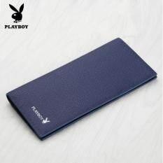 ทบทวน Playboy กระเป๋าสตางค์แฟชั่นแบบยาว สีกรมท่า 1ใบ