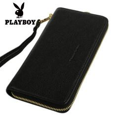 ราคา ราคาถูกที่สุด กระเป๋าถือแบบซิปรอบของผู้หญิง ยี่ห้อPlayboy สีดำ สีดำ