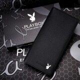 ขาย Playboy กระเป๋าสตางค์หนังแท้คุณภาพดี สีดำ