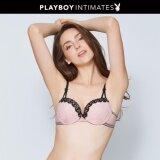 ขาย ซื้อ Playboy Intimates เสื้อชั้นใน Playboy Intimates Bunny Polka Dot Demi Bra