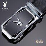 ขาย Plby Men S Belt Leather Automatic Buckle Belt Korean Tide Casual Youth Business Leather Belt Intl เป็นต้นฉบับ