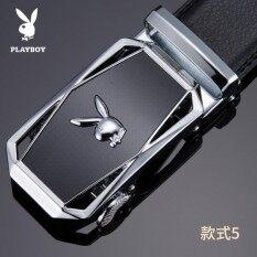 ขาย Plby Men S Belt Leather Automatic Buckle Belt Korean Tide Casual Youth Business Leather Belt Intl จีน