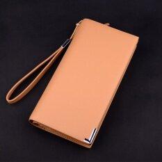 ขาย กระเป๋าสตางค์ซิปสไตล์หนุ่มญี่ปุ่นเกาหลี 909 สีเบจ 909 สีเบจ ฮ่องกง