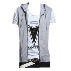 ขาย ซื้อ ออนไลน์ บางคนก็ทรงเมิน Podomnเสื้อฮู้ดเสื้อแขนกุดเสื้อกล้ามเสื้อสีเทา ระหว่างประเทศ
