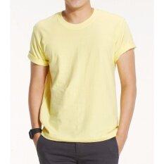 ขาย Polomaker เสื้อยืด Cotton 100 Ts02 สีเหลือง ผู้ค้าส่ง