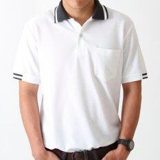 ขาย Polomaker เสื้อโปโล Kanekotc Pc096 สีขาว Male Polomaker เป็นต้นฉบับ