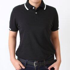 ขาย Polomaker เสื้อโปโล Kanekotk Pk095 สีดำ Female กรุงเทพมหานคร ถูก