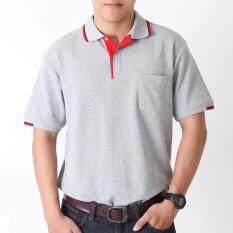 ขาย Polomaker เสื้อโปโล Kanekotk Pc045 สีเทานวล Male Polomaker ใน กรุงเทพมหานคร