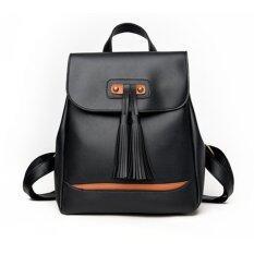 ซื้อ Porra Bag กระเป๋าสะพายหลัง ผู้หญิง กระเป๋าเป้เกาหลี กระเป๋าแฟชั่น รุ่น Pp 119 สีดำ กรุงเทพมหานคร