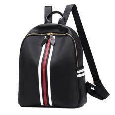 ขาย Porra Bag กระเป๋าสะพายหลัง ผู้หญิง กระเป๋าเป้เกาหลี กระเป๋าแฟชั่น รุ่น Pp 136 สีดำ Wichu Bag ออนไลน์