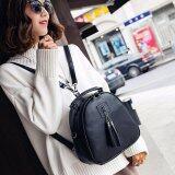 ราคา Porra Bag กระเป๋าสะพายหลัง ผู้หญิง กระเป๋าเป้เกาหลี กระเป๋าแฟชั่น รุ่น Pp 146 สีดำ Porra Bag ออนไลน์