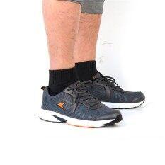 ราคา New Arrival Power รองเท้าผู้ชายผ้าใบ สำหรับวิ่ง Power Men Running สีเทา และ สีดำ 8182302 8186702 ใน กรุงเทพมหานคร