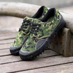 ซื้อ Practical Wear Resistant Anti Slip Camouflage Training Work Shoes Camouflage Intl ใน จีน