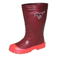 ราคา รองเท้าบู๊ทกันน้ำ Prado Gang ไฟลอน สวม ผู้ใหญ่ 12 รุ่น 3311 9 สี น้ำตาล Prado Gang ใหม่