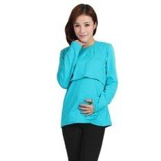 เสื้อชั้นในสตรีครรภ์มีครรภ์เสื้อแขนยาวแอล - นานาชาติ.