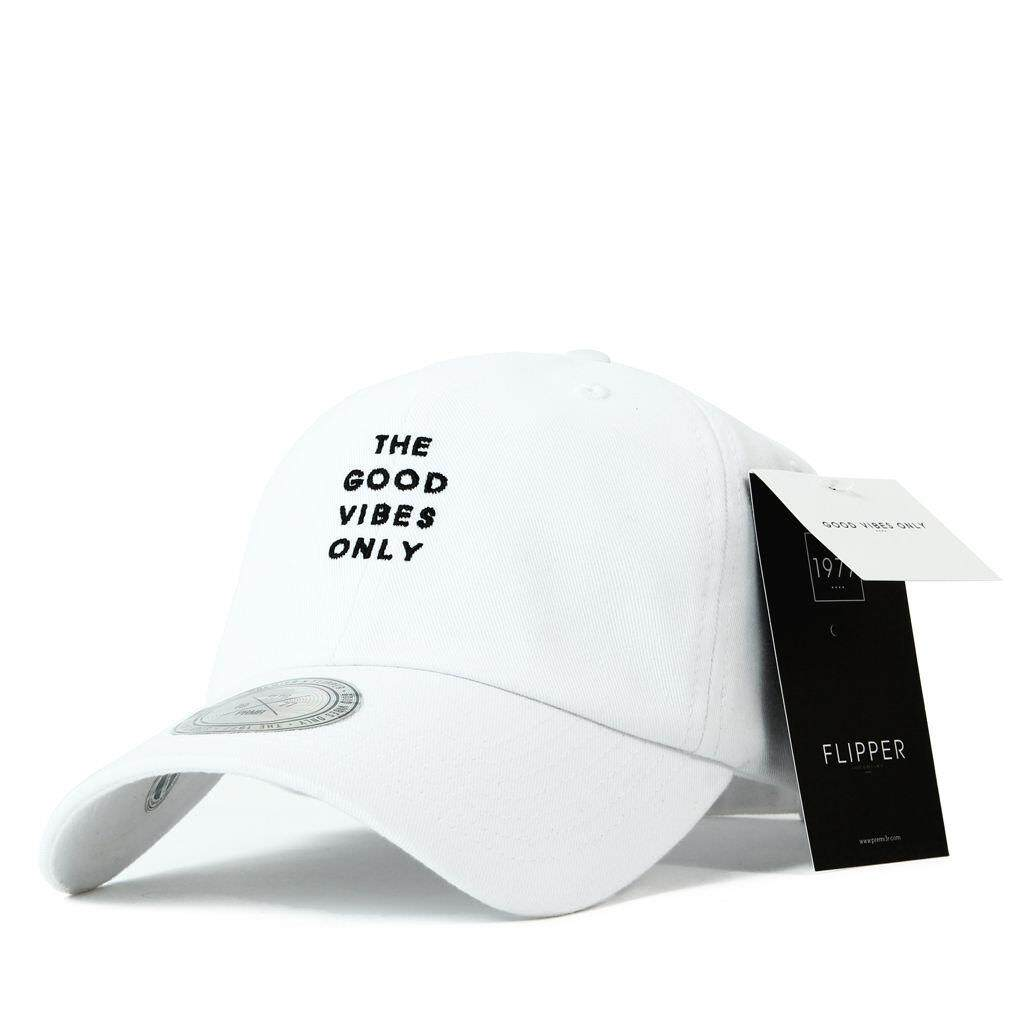 PREMIER Unisex Baseball Cap หมวก – Long tail ballcapWhite