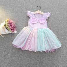 ซื้อ Princess Dress ชุดเจ้าหญิง ชุดราตรีเด็ก รุ่น Angel ใหม่