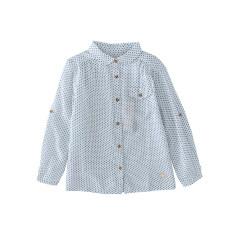 ราคา แนวโน้มเด็กแขนยาวเด็กชายปกเสื้อสาวเสื้อ แสงสีฟ้า Other ใหม่