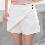 กางเกงป่าคำกระโปรงสีขาวกระโปรงบาง สีขาว ฮ่องกง