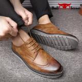 ราคา บูลส์สถานที่เกาหลีผู้ชายและรองเท้าที่เดินทางมาพักผ่อนรองเท้า สีน้ำตาลอ่อน ราคาถูกที่สุด