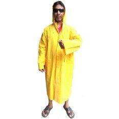 ชุดคลุมกันฝน สีเหลือง.