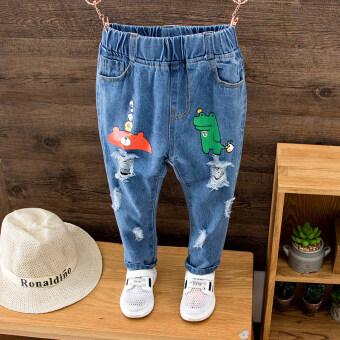 กางเกงยีนส์เด็กสไตล์เกาหลี