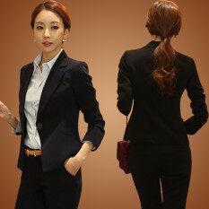 ราคา เสื้อสูทผู้หญิง Kelayila สไตล์เกาหลี สีดำ สีดำ สีดำ ใหม่ล่าสุด